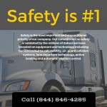SAFETY #1 | CALL: 844-846-4285
