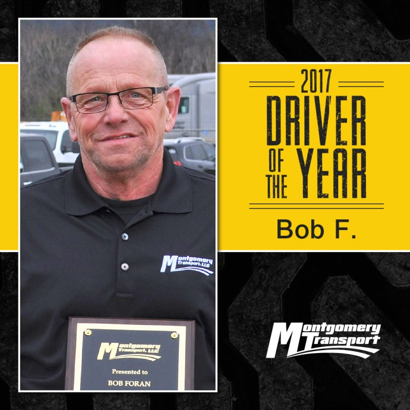 2017 Driver of the Year: Bob F.