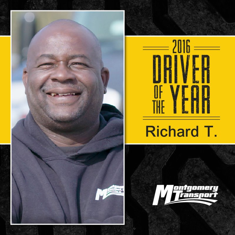 2016 Driver of the Year: Richard T.