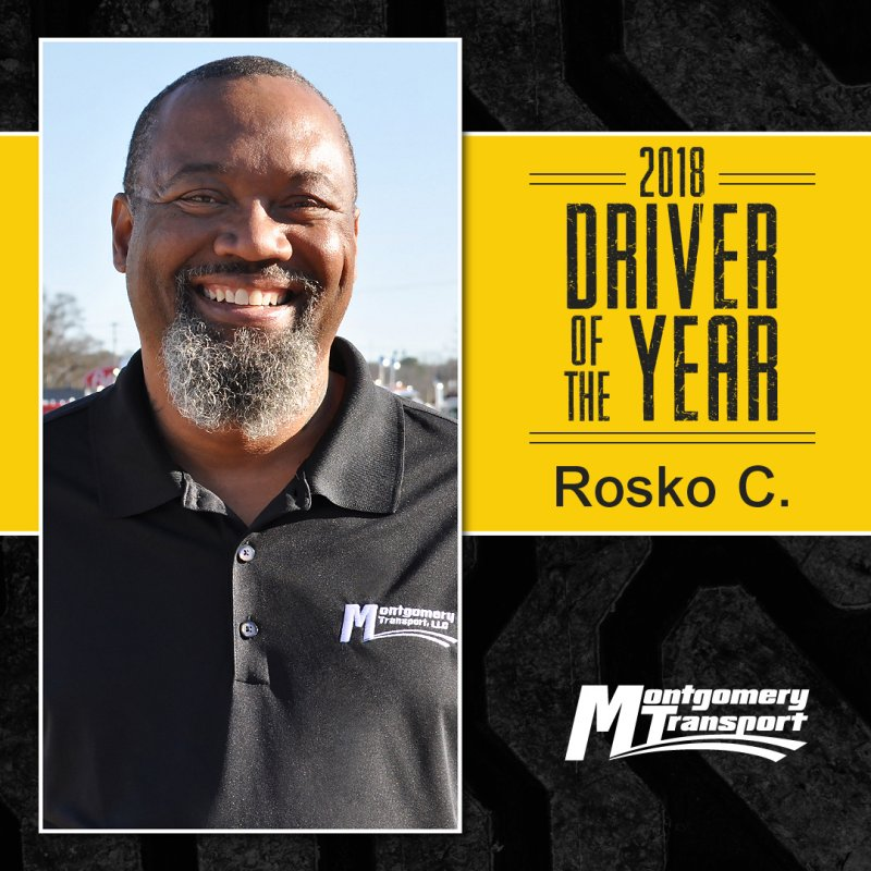 2018 Driver of the Year: Rosko C.